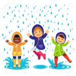 46283838-kids-in-raincoats-and-rubber-boots-playing-in-the-rain-children-jumping-and-splashing-through-the-pu-stock-vector