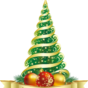 merry_christmas_green_tree_png_clipart